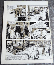Forton, Gerald - Original Indian ink plate - Borsalino