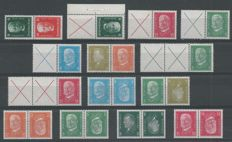 German Reich - 1927/1932 - Selection of combinations State Presidents