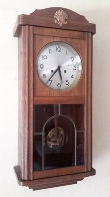 Beautiful FHS box regulator clock from the 1980s