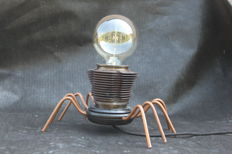 "Kris Devillé – spider lamp ""VW Spider"""