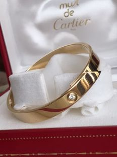 Cartier – 1997 Anniversary Bangle Bracelet – 17 cm