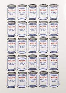 Banksy - Tesco Value Cream of Tomato Soup Cans