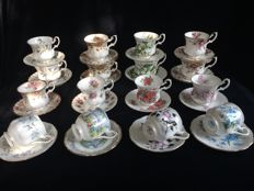 Royal Albert 32 pieces of English porcelain.