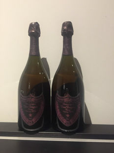 2004 Dom Perignon Brut Rose - 2 bottles (75cl)