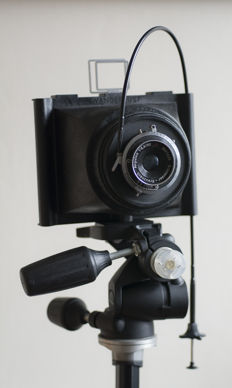 Wanderlust Travel Wide lightweight 4x5 camera Fitted with Schneider Angulon 90mm ƒ/6.8.