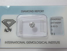 0.50 ct brilliant cut diamond D SI2 ***Low Reserve Price***