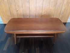 Unknown manufacturer, vintage teak wood coffee table