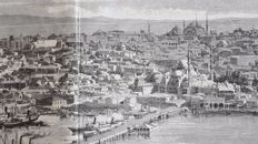 Unknow artist - View of Constantinople from Pera