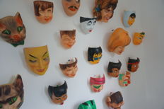 Old collection carnival masks