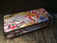 Lejan – Transport case featuring 'Pop Art' images