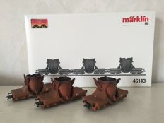Märklin H0 - 46143 - Carriage unit for pig iron