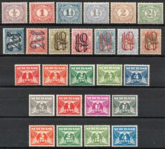 The Netherlands 1899/1926 – Four complete Numbers series