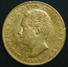 Portugal – 2.000 Réis in GOLD – 1864 – D. Luís I – Lisboa – Excellent