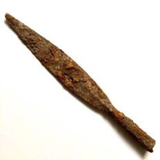 Excellent and Long Ancient Roman Iron Cavalry Spearhead - 400 mm