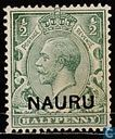 George V with imprint