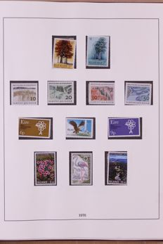Europa Stamps 1958/1983 - Collection of followers in two Lindner Falzlos T-type preprint albums