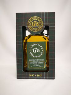 Convalmore 1977 40 years old - Cadenhead 175th  Anniversary 56.8% abv. Single Malt Scotch Whisky - only 522 bottles made