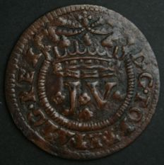 Portugal – III Reis – D. João V – 1721 – No Reserve – Lisbon – Rare and Very Valuable in This Condition
