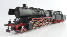 Märklin H0 - 3084 - Heavy freight train locomotive with a cabin tender BR 50 of the DB with smoke generator
