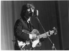 Durazzi/Agenzia Dufoto - George Harrison - The Beatles - Milano - 1965