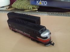 Kato N - F3A 176-082/F3B 176-072 - 2x Diesellocomotives F7: A-Unit & B-Unit of the Southern Pacific