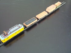Arnold N - Diesel train for maintenance of rail bed and overhead line