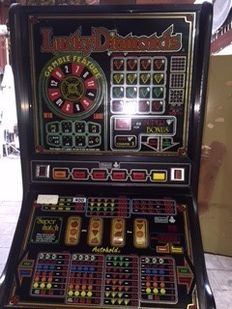 Barcrest Lucky Diamonds slot machine late 20th century