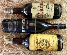 Time for the  Brandy - Magno/Alvear/Carlos I - 3 Bottles