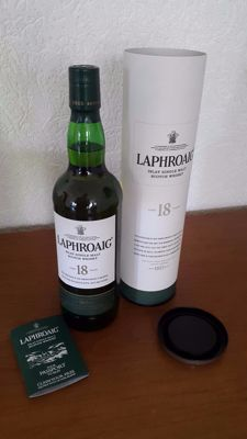 Laphroaig - aged 18 years old