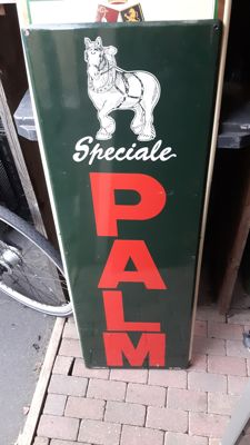 Emaille reclame bord Palm