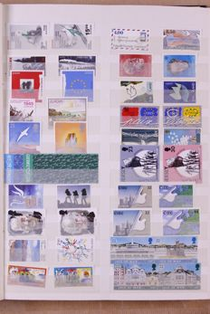 Europa Stamps 1960/2000 – Collection in stock book