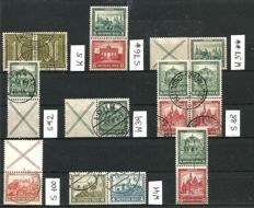 German Empire, 1921-1941 - se-tenant stamps