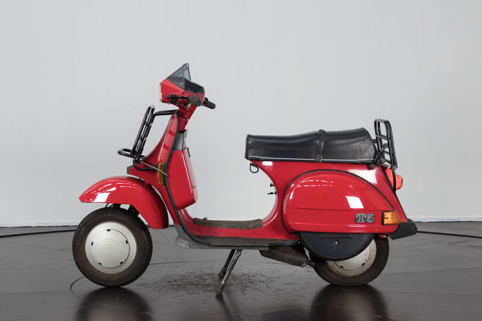 vespa 125 t5 pole position