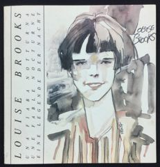 "Vol. trilingual ""Louise Brooks: Una Fiaba Notturna"" with bookmark (1984)"