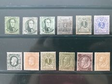 Belgium 1863/1884 – Collection of classic stamps - OBP 13/50