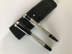 Montblanc Marcel Proust Limited Edition Fountain pen and Ballpoint pen. Absolute mint condition.