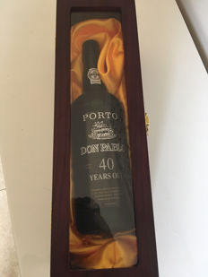 40 years old Tawny Port Don Pablo 'C. Da Silva' Bottled 2008 - 1 bottle in luxurious case.