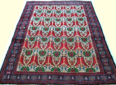 Persian Handmade semi antique Hamadan Rug / carpet - Iran  20 century