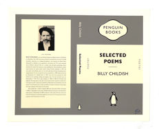 "Billy Childish - Selected Poems ""Penguin Classic"" Cover Artwork Print"