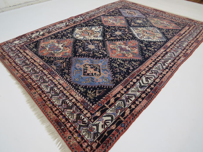 Dreamily beautiful Persian carpet Yalameh, Iran, 285 x 200 cm, end of the 20th century GOOD CONDITION - TOP QUALITY