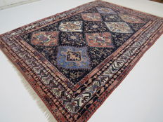 Dreamily beautiful Persian carpet, Yalameh/Iran, 285 x 200 cm, end of the 20th century GOOD CONDITION - TOP QUALITY -