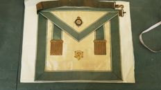 Masonic vestment 31°-Degree Inspector Inquisitor Masonic Commendatore, from the 1800s