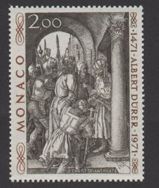 "1972 Monaco - unissued ""Albert Dürer"" with Calves digital certificate - Yvert no. 876 A"