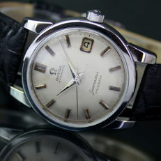 Omega Seamaster Calendar Automatic Date Steel Mens Watch