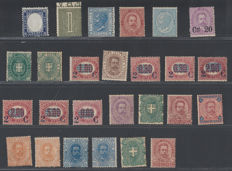 Italy Kingdom 1862/1899 - Collection of stamps