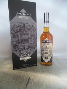 The Cally 1974 40 years old Limited Release Single Grain Scotch Whisky