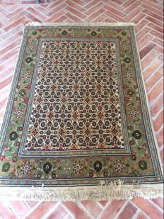 Hand-knotted Persian rug, Tabriz, 138 x 98 cm Iran, approx 1990