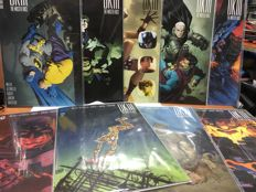 Collection Of DC Comics - Batman Dark Knight III : The Master Race - Written Frank Miller - Variant Covers from US Midtown Comics - x9 SC -