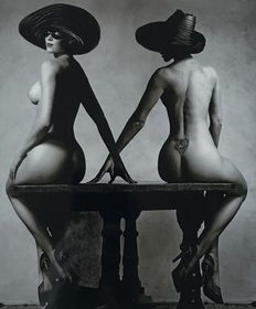 Clive Arrowsmith - 'Nell McAndrew table' - 1990s