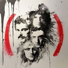 Mr Brainwash - Queen Product (Red)